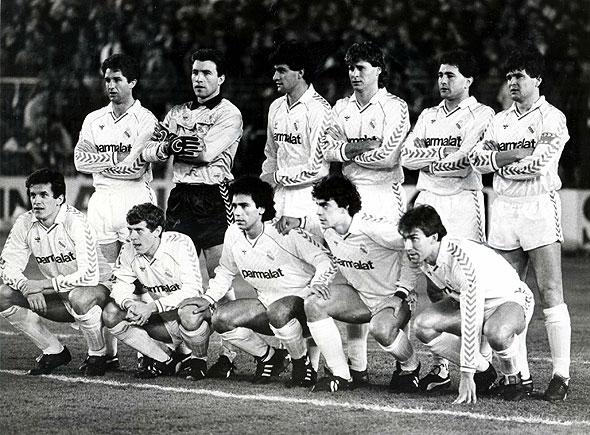 Una de las alineaciones del Madrid de cuando aún disfrutaba viendo fútbol